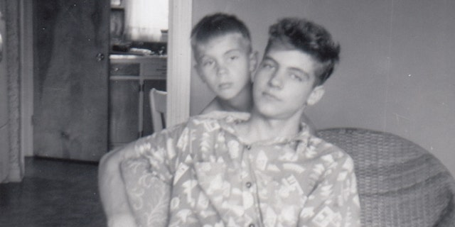 David Kaczynski and his older brother Ted before the horrific bombings.