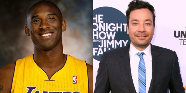 Jimmy Fallon began his Monday night show honoring his friend, Kobe Bryant, in an emotional tribute.