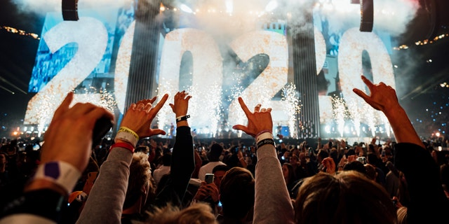 65,000 college students rang in the New Year at Passion 2020 in the Mercedes-Benz Stadium in Atlanta, GA.