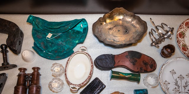 Newly released artifacts on display at the Titanic: The Artifact Exhibition