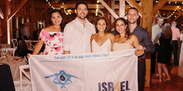 Carly and Alex Vargas met on a Birthright Israel trip with Israel Outdoors, as both of them are active and adventurous.