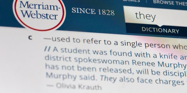"In related headlines, the language mavens at Merriam-Webster have also declared the personal pronoun ""they"" as the 2019 word of the year, based on a 313-percent increase in search at Merriam-Webster.com."