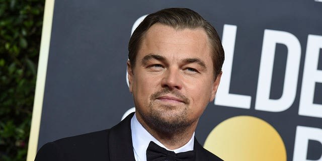 Leonardo DiCaprio arrives at the 77th annual Golden Globe Awards at the Beverly Hilton Hotel on Sunday, Jan. 5.