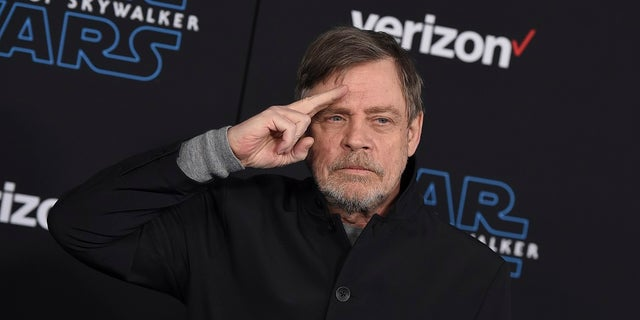 "Mark Hamill arrives at the world premiere of ""Star Wars: The Rise of Skywalker"" in Los Angeles. Hamill praised workers at Bookmans Entertainment Exchange in Flagstaff, Ariz., for returning the ""Star Wars: A New Hope"" soundtrack that had been a gift from film composer John Williams. (Jordan Strauss/Invision/AP, File)"