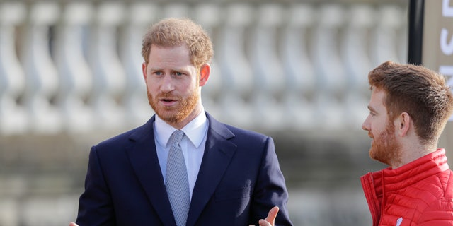 Prince Harry attended the Rugby League World Cup 2021 draw on Jan. 16 ahead of the queen's statement in support of 'Megxit.'