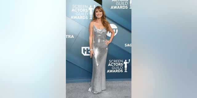 Westlake Legal Group AP20020022478685 Jane Seymour says she had 'no room for underwear' in silver SAG Awards gown Jessica Napoli fox-news/entertainment/style fox-news/entertainment/celebrity-news fox-news/entertainment fox news fnc/entertainment fnc dc8e971e-b0bf-5dd5-ad03-c0ebde8e9705 article