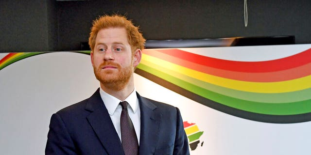 Prince Harry requested that the public does not call him 'Prince' at a royal event in the U.K.