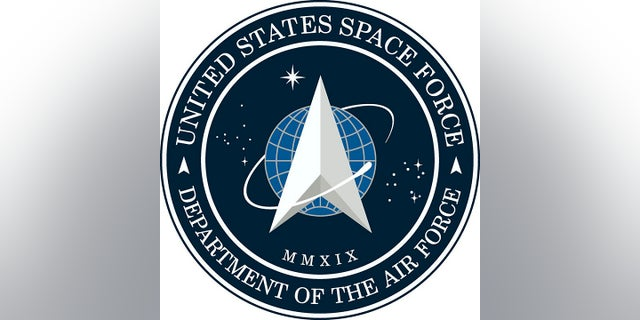 The logo for the newly-created Space Force.