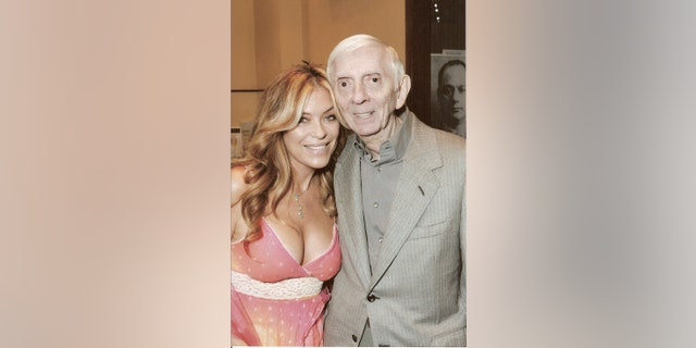 Lydia Cornell and Aaron Spelling.