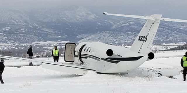 """A """"patch of ice"""" is believed to be responsible for the incident,Wasatch County Fire officials have said."""