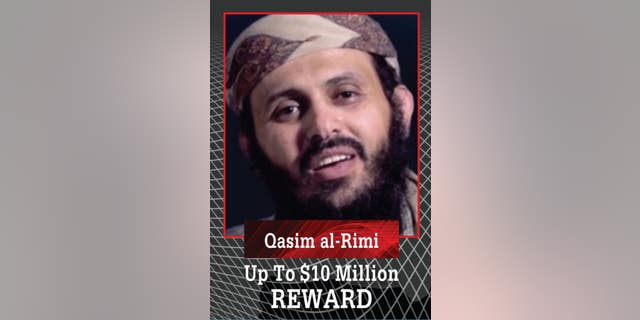 The U.S. government issued a $10 million reward for terrorist leader Qassim al-Rimi.