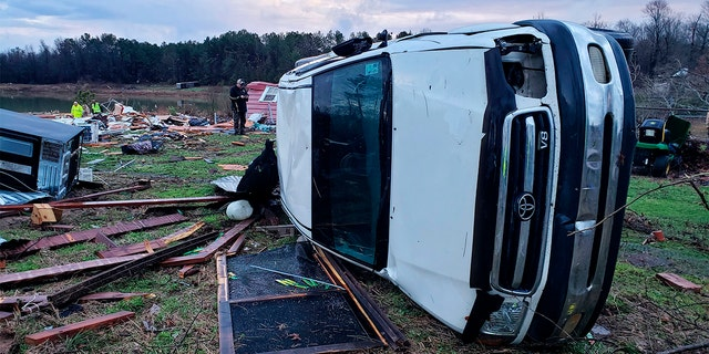 Westlake Legal Group Alabama-Storm-AP-2 Storms in South blamed for 7 deaths, including 3 in Alabama from tornado Robert Gearty fox-news/weather fox-news/us/us-regions/southwest/texas fox-news/us/us-regions/southwest/oklahoma fox-news/us/us-regions/southeast/mississippi fox-news/us/us-regions/southeast/louisiana fox-news/us/us-regions/southeast/alabama fox-news/us/us-regions/midwest/missouri fox-news/us/us-regions/midwest/arkansas fox news fnc/us fnc article 59b4a1af-5e4b-53c6-919c-9d591fb175ab