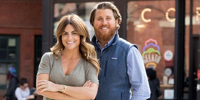 Former 'Windy City Rehab' co-host Donovan Eckhardt, right, is suing HGTV's parent company Discovery Inc. and a production company for defamation over his portrayal before his exit in Season 2.