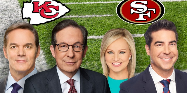 Bill Hemmer, Chris Wallace, Sandra Smith and Jesse Watters are among the Fox News stars with a rooting interest in Super Bowl LIV.