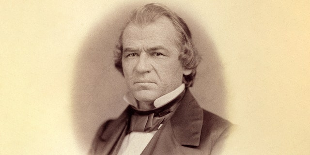 Andrew Johnson narrowly escaped a Senate conviction after being impeached by the House for unlawfully trying to replace his war secretary.