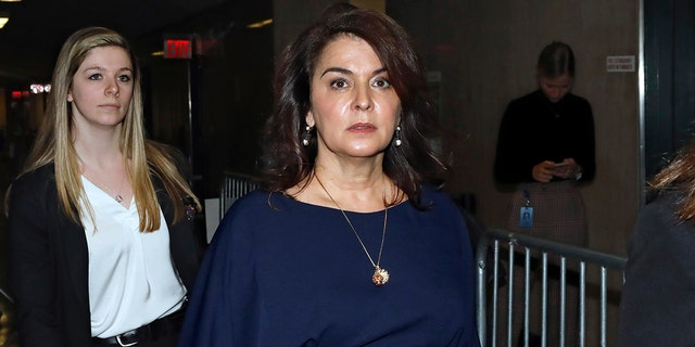 Actress Annabella Sciorra testified in court about her alleged rape at the hands of Harvey Weinstein.