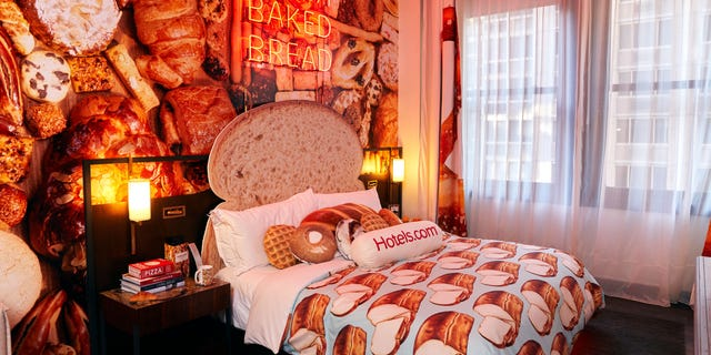 The Bread and Breakfast is located at the Refinery Hotel in New York City.