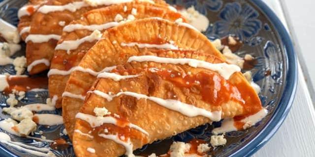 Buffalo Chicken Empanadas