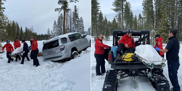 Paula Beth James was found alive in her SUV buried in snow after she was reported missing on Jan 9.