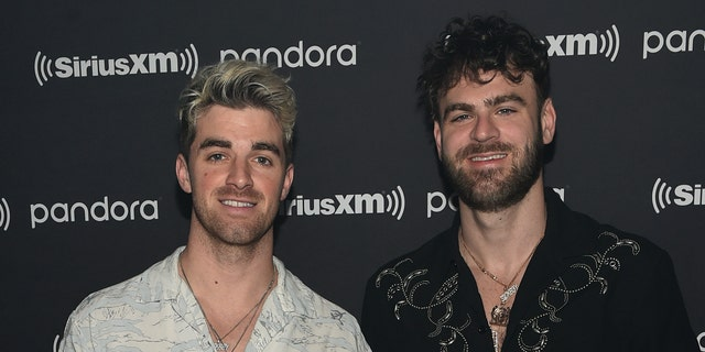 The Chainsmokers. (Photo by Dimitrios Kambouris/Getty Images for Pandora)