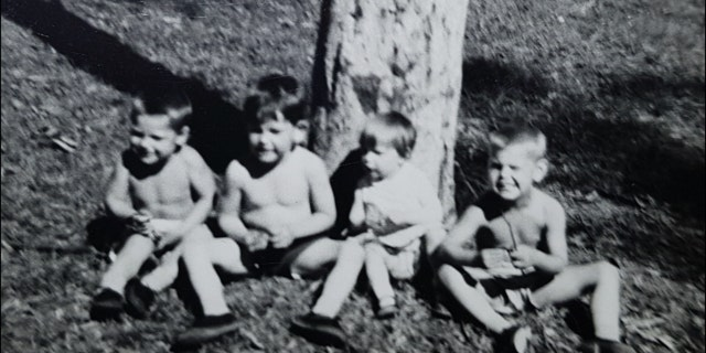 Cheryl, second from right, vanished while spending the day at the beach with her mother and three brothers.
