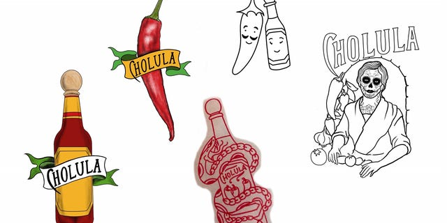 Fans can receive one of five exclusive free flash tattoos, inspired by the hot sauce and designed by artists at the tattoo parlor.