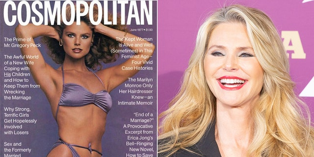Christie Brinkley is still just as much a vision today as she was when she graced the cover of Cosmopolitan in 1977.