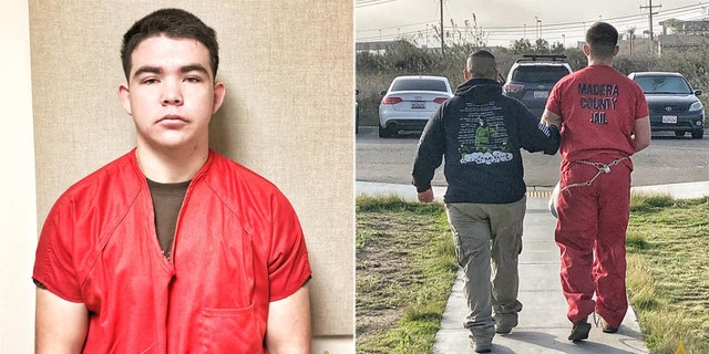 Former Marine Codi Slayton, 19, had been charged with murder in the October death of a 16-year-old girl, Josephine Jiminez, whom he met online.