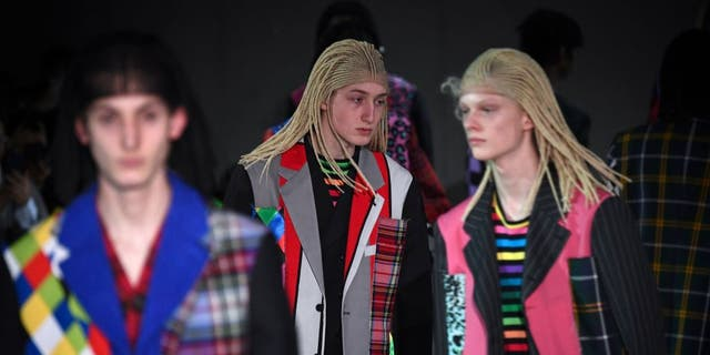 Westlake Legal Group CommesDesGarconsAnne-Christine-PoujoulatAFPviaGettyImages2 Japanese fashion house accused of cultural appropriation for putting models in cornrow wigs: 'Racist show!' Michael Bartiromo fox-news/world/world-regions/japan fox-news/world/world-regions/france fox-news/style-and-beauty/modeling fox-news/style-and-beauty fox news fnc/lifestyle fnc article aaea9ad2-87c7-5e28-9c99-60d8f34be326