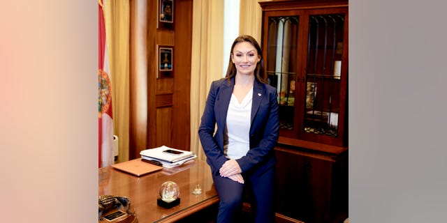 Nikki Fried, Commissioner of the Florida Department of Agriculture (Photo courtesy of Nikki Fried's office).
