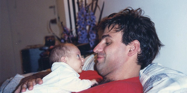 Michael Mastromarino with his son.