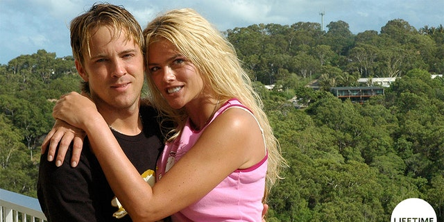 Larry Birkhead and Anna Nicole Smith.