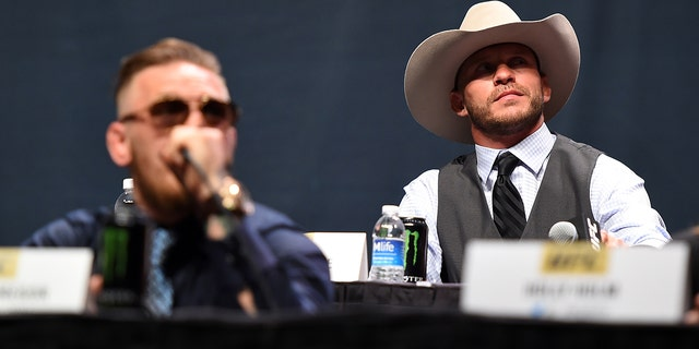 Westlake Legal Group Cowboy-Cerrone PETA calls out Conor McGregor, 'Cowboy' Cerrone over python jacket fox-news/style-and-beauty fox-news/lifestyle fox news fnc/lifestyle fnc article Alexandra Deabler 171b625f-efe3-566d-b623-5cdf72955338