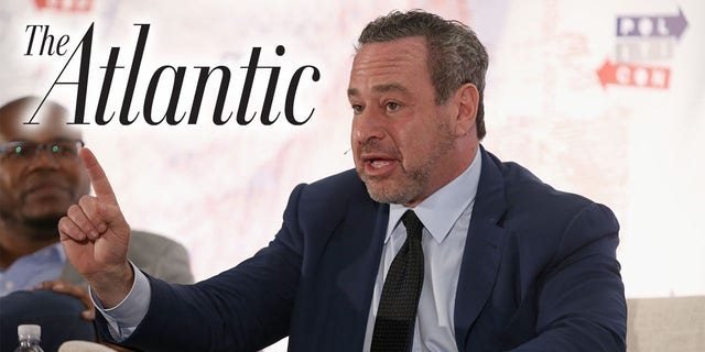"""The Atlantic staff writer David Frum slammed Trump voters as obese drug users with a """"homoerotic"""" fetish for the former president. (Photo by Phillip Faraone/Getty Images for Politicon )"""