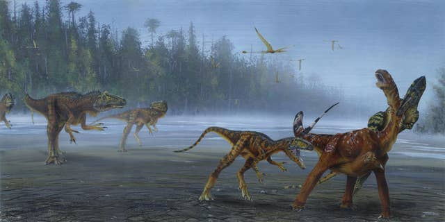 Westlake Legal Group DinoAllosaurus New species of meat-eating dinosaur discovered in Utah James Rogers fox-news/science/archaeology/dinosaurs fox-news/science fox-news/columns/digging-history fox news fnc/science fnc b67ff795-83f1-5fa9-9929-17aa9446ffa1 article
