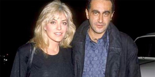 Lydia Cornell with Dodi Fayed.