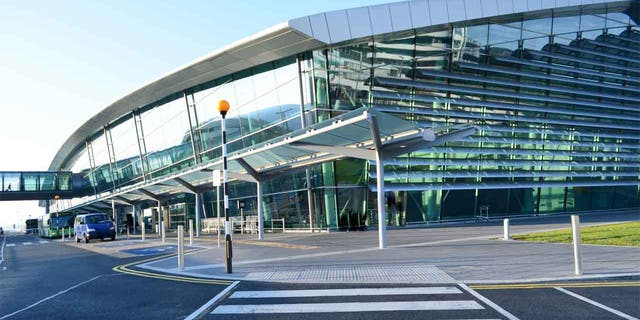 Two men are facing charges in connection with the hijacking of minibus that took place at Dublin Airport early Wednesday.
