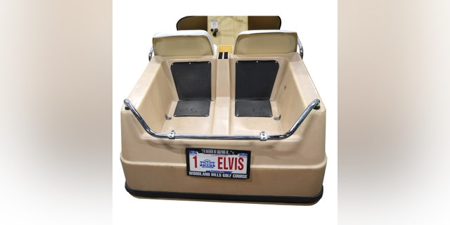 Westlake Legal Group EL4 Elvis Presley's Harley-Davidson golf cart duffs at auction Gary Gastelu fox-news/entertainment/celebrity-news fox-news/auto/style/motorcycles fox news fnc/auto fnc article 4d5d149a-7e6a-5dfc-b507-14841b8f18cf