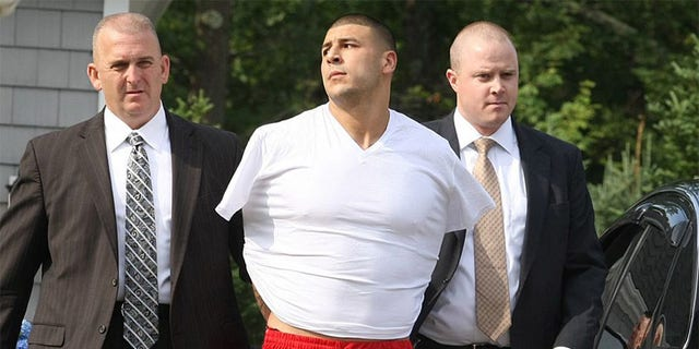 Aaron Hernandez was convicted in 2015 of the murder of semi-pro football player Odin Lloyd and was sentenced to life in prison.