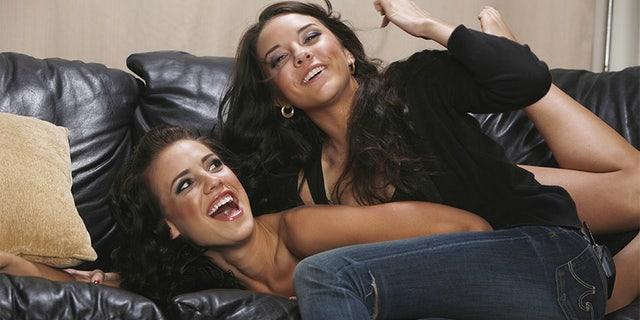 Tess Taylor and Alexis Neiers (L-R) of E!'s reality series Pretty Wild pose for a portrait in Los Angeles, California on June 1, 2009.