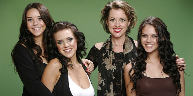 "Left to right: Alexis Neiers, Tess Taylor, Andrea Arlington, and Gabrielle Neiers of E!'s reality series ""Pretty Wild"" pose for a portrait in Los Angeles, California on June 1, 2009."