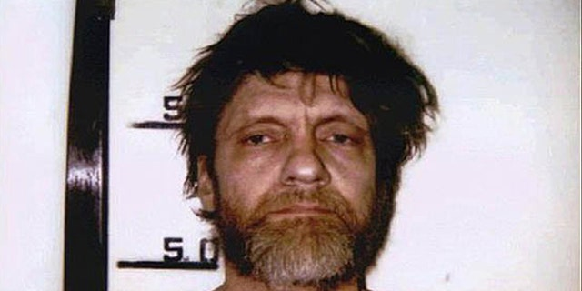 Unabomber Ted Kaczynski mug shot in April 1996.