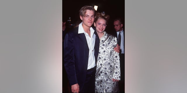 "Leonardo DiCaprio and Claire Danes at the premiere of ""Romeo + Juliet."" (Photo by SGranitz/WireImage)"