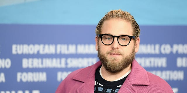 Jonah Hill opened up about his journey to self-love in an Instagram post while he clapped back at the Daily Mail for sharing photos of him surfing. (Matthias Nareyek/Getty Images)