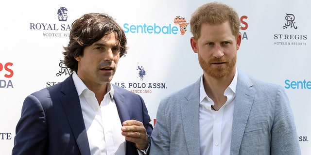 Prince Harry, Duke of Sussex and Nacho Figueras.