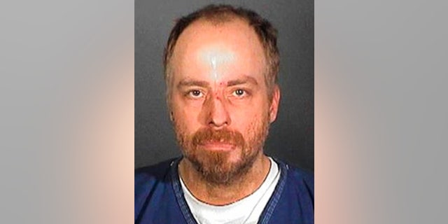 In this handout, American singer, actor, and television personality Leif Garrett in a mug shot following his arrest, US, circa 2005.