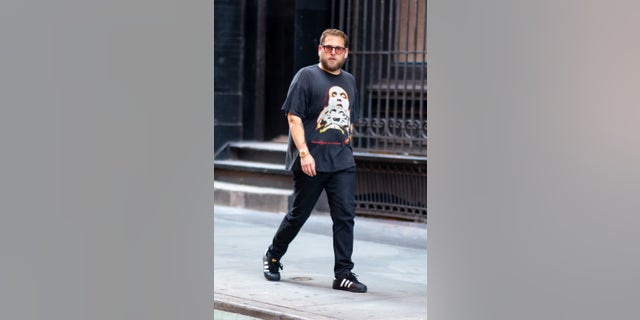Jonah Hill in 2019. (Photo by Gotham/GC Images via Getty)