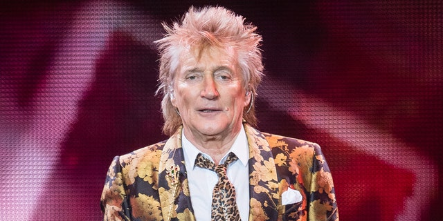 Rod Stewart performs at The O2 Arena on December 17, 2019 in London, England.