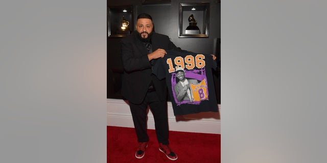 DJ Khaled attends the 62nd Annual GRAMMY Awards at STAPLES Center on January 26, 2020 in Los Angeles, Calif. (Photo by Lester Cohen/Getty Images for The Recording Academy)
