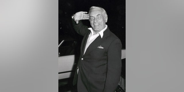Actor Ted Knight circa 1982.